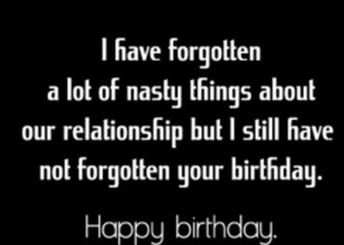 What to say to your ex boyfriend on his birthday