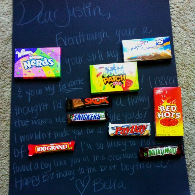 Make my what his boyfriend for birthday should i How to