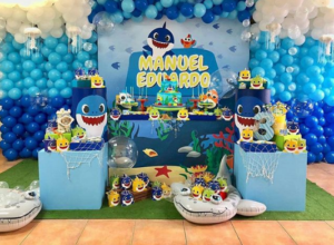 Baby Shark Birthday Party Ideas