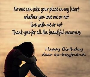 Birthday Wishes For Ex BF