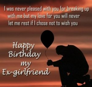 Birthday Wishes for Ex Gf