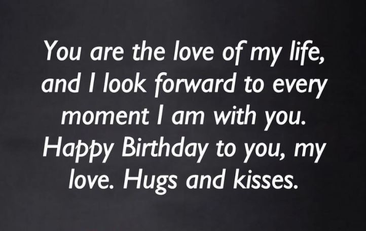 Birthday Wishes for Partner