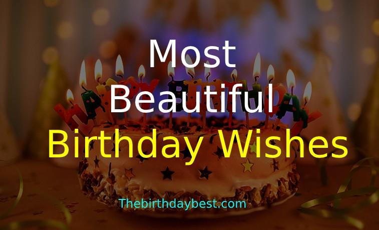 A Beautiful Birthday Wishes