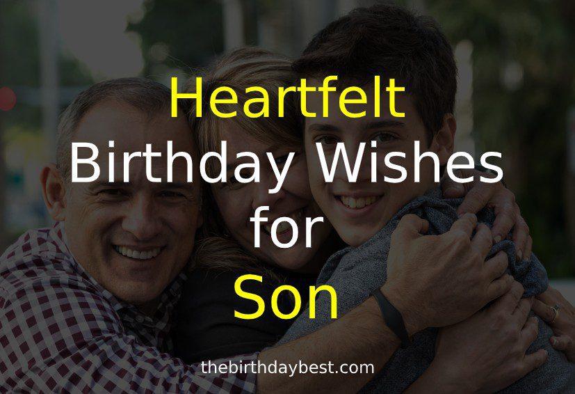 Heartfelt Birthday Wishes for Son